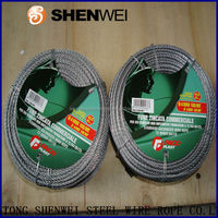 BF high quality hot dip galvanized steel wire rope