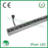 Amazing price color changing DMX512 madrix 12v led bar light for KTV and Disco