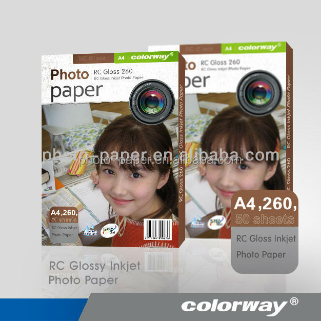 Fast delivery 190g A4 high glossy fujifilm photo paper