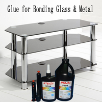 UV Glue for Bonding Glass to Metal