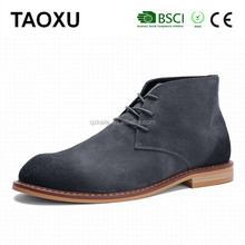 High ankle round toe man shoes ranger tanker Breathable Suede leather man safety footwear