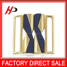 las vegas lady joint fashion garment rhinestones belt metal interlock buckles