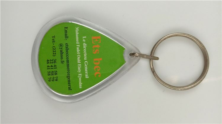 New product trendy style keychain photo frame from China