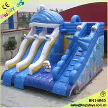 Dolphin Kids Slide Inflatable Water Bouncy Castle