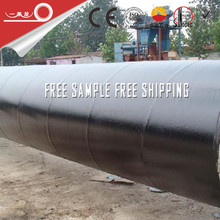 epoxy coal tar anti corrosion pipe coating with wrapping tape