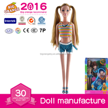 Russia Baby Doll With boat Swim Platforms Toys For Kids 2016
