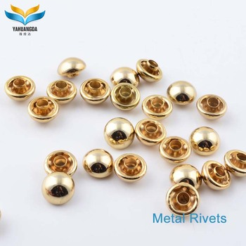 new product custom metal push snap rivet
