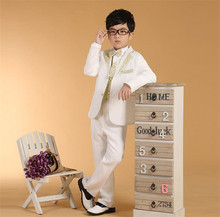 super quality korean style childern suits boys spring autumn winter wedding suits
