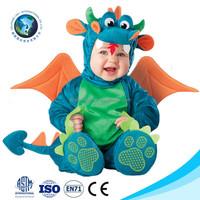 Wholesale cheap cosplay halloween mascot costume fashion cute soft plush baby dinosaur costume