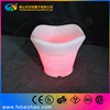 LED lit mini plastic ice bucket for beer
