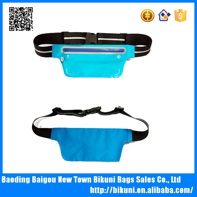 Alibaba best seller 360 reflective safe waterproof waist pouch running waist bag pack for phone,money ,hiking