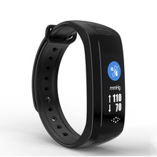 On Sell 2018 WearHealth App Calorie Counter Watch 0.96'OLED Screen Wrist Strap