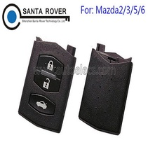 Top Quality Mazda M2 M3 M5 M6 Flip Remote Key Case Replace 3 Button Fob
