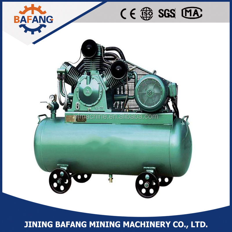 The industry oil-free air compressor with electric motor