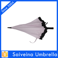Hot sale new product 2015 rain umbrella,pink fan umbrella