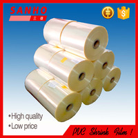 PVC shrink sleeve roll soft pvc film Factory Producer