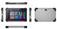"8"" 10"" MIL-STD-810G Full IP65 Touch Panel PC Industrial tablet pc with NFC/1D/2D Docking Rugged tablet PC"