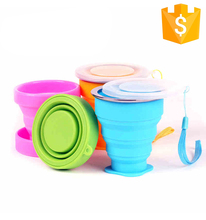 Camping Healthy Portable Light Sports Silicone Foldable Water Cup For Trip