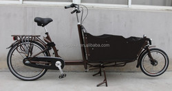 Steel van cargo tricycle/cheap china cargo tricycle from cargo bike factory