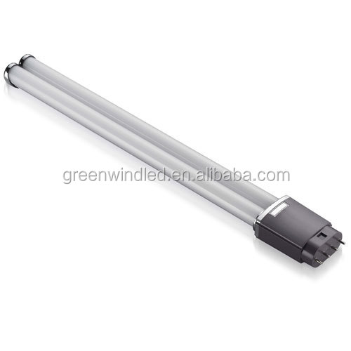 clear cover warm white PL GY10 15W(417mm)22W (542mm) 2g11 led fpl tube