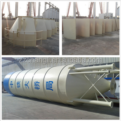 Cement Silo of Concrete Batching Plants, storage bins for powder