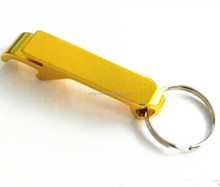 custom logo promotional bottle opener keychain