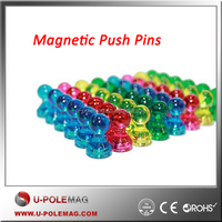 High Quality Magnetic Plastic Push Pins