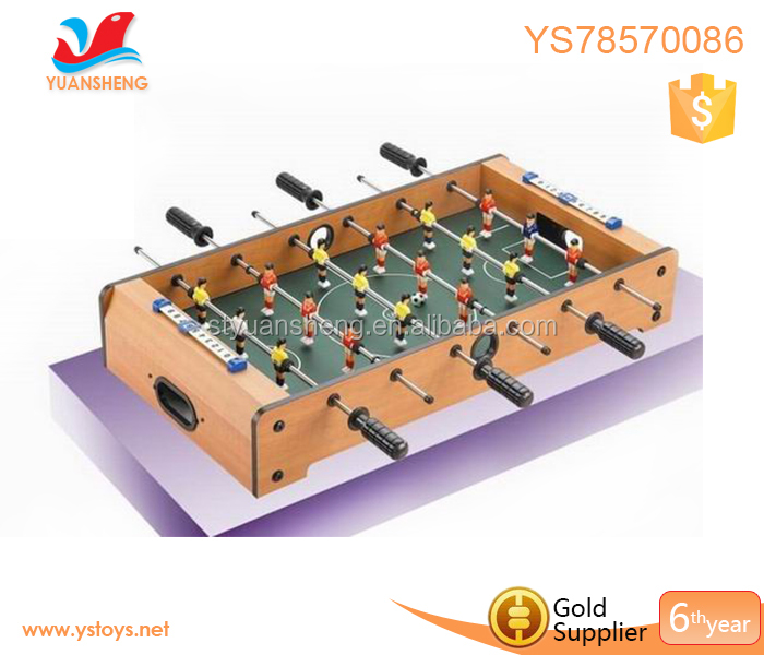 Football & Soccer pool table for sale factory direct sale wood mini pool soccer table 27 inch foosball hand pool game