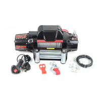 12v 13000Lb powerful winch looks like warn winch for competition