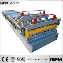 FXFT-metal pannel glazed tile roof roll forming machine