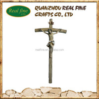 2014 Hot Sale Resin Jesus Cross, Crucifix For Christmas