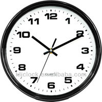 Gift Clock Round Shape With Black Frame