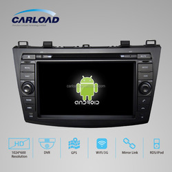 Mazda android 2 din car with touch screen car dvd player for Mazda 3