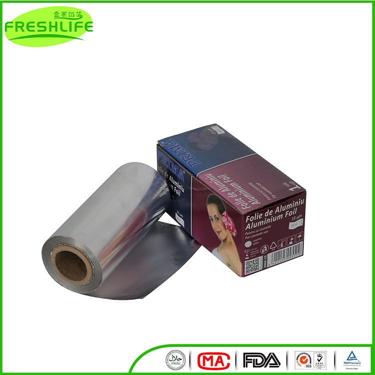 China gold manufacturer aluminum foil roll laminated aluminum foil packaging paper
