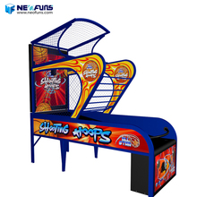 2018 newest coin operated basketball arcade game machine basketball hoop for sale