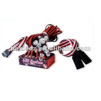 R/C 1/10 Ultra Bright LED Light Indicator System for RC Car