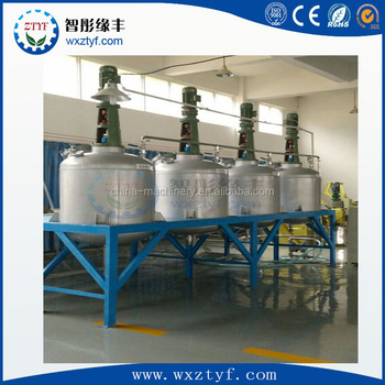 Paint Multi Tank Platform Disperser Mixing Machine