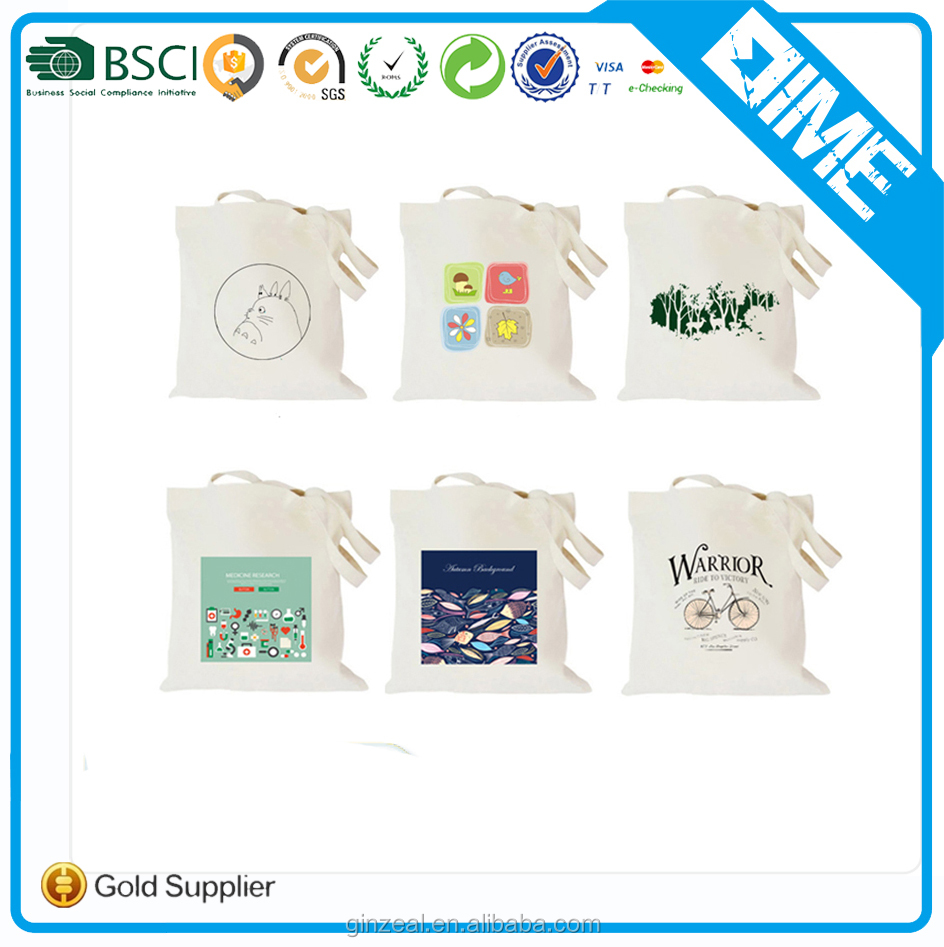 Eco friendly Organic Cotton Euro Cotton Tote Shopping Bags
