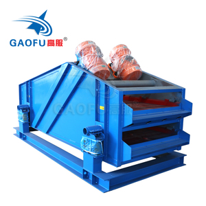 High frequency dewatering vibrating screen for sand