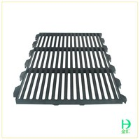 livestock slatted floor,black poultry slat for animals