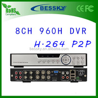 CCTV Security Digital Video Recorder P2P Cloud 1080p h.264 dvr with CE FCC RoHS certificates