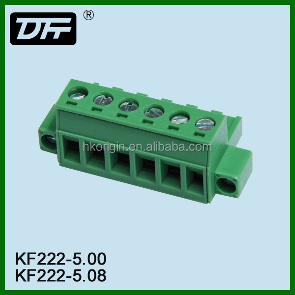 Top level most popular terminal block connector plug in type