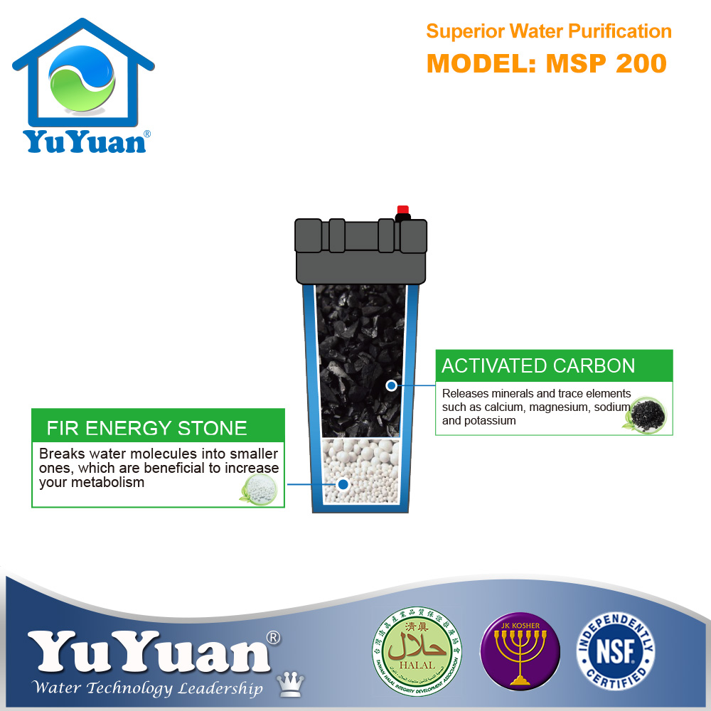 Made in Taiwan 10 inch Sediment Filter Use Cartridge Coconut Shell Charcoal Water Filter