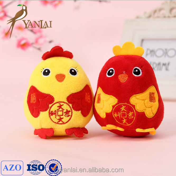 2016 wholesale promotion plush gift chicken toys