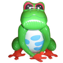 garden inflatable toy, inflatable animal toy,inflatable frog for kids