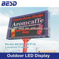 BESD France project P16 outdoor full color led sign billboard, led display screen outdoor