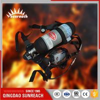 Fire Fighting Equipment Fresh Air Breathing Apparatus Scba