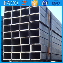 Tianjin square rectangular pipe ! 800x800mm carbon square pipe mechanical properties st37 steel