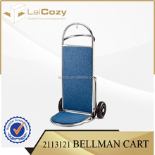 High quality hotel furniture used for hotel luggage cart / luggage cart for hotel