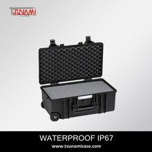 China Manufacturer!waterproof IP67 modle512722 plastic golf travel hard case